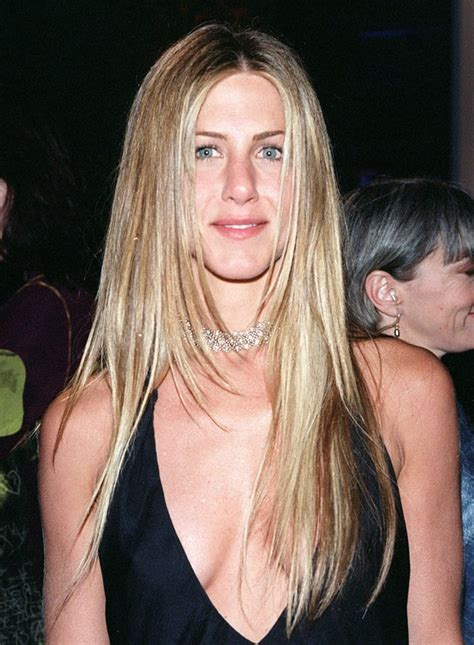 march 2000 jennifer aniston s hair evolution us weekly