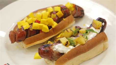dogs and pineapple fourth of july and pineapple salsa recipe today