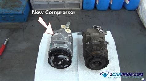 how to replace an air conditioner compressor in 2 hours