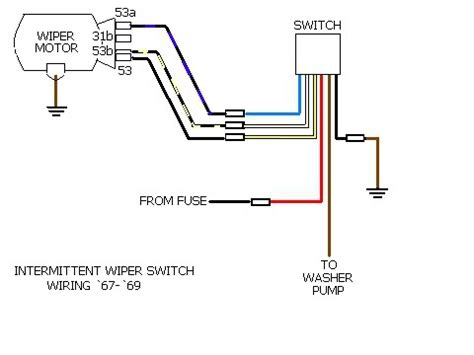 car wiper motor wiring diagram get free image about
