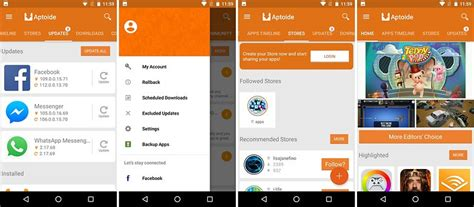 aptoide login best google play store alternative app stores androidpit