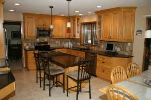 Kitchen Cabinets Remodeling Ideas Kitchen Decorating Ideas Maple Cabinets Regarding Cozy