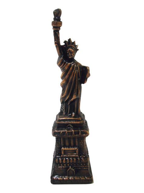 statue of liberty ottoman bronze statue of liberty object chairish