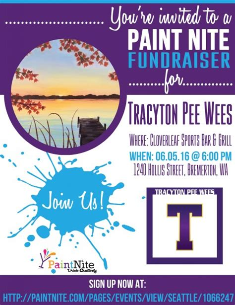 paint nite tracy ca tracyton wee sports association powered by sports