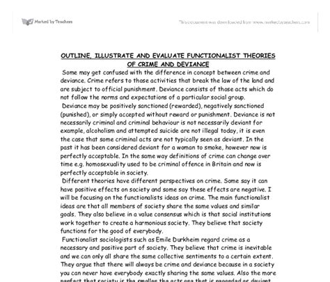 Deviance Essays by Deviance In Society Essay