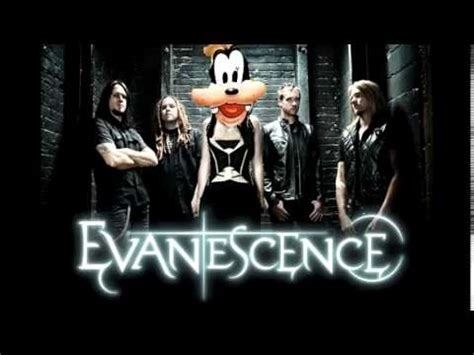 goofy sings evanescence s bring me to me up