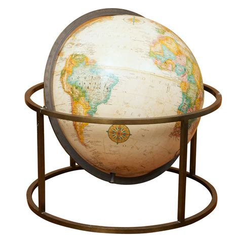 desk globe picture more detailed modern desk top globe at 1stdibs
