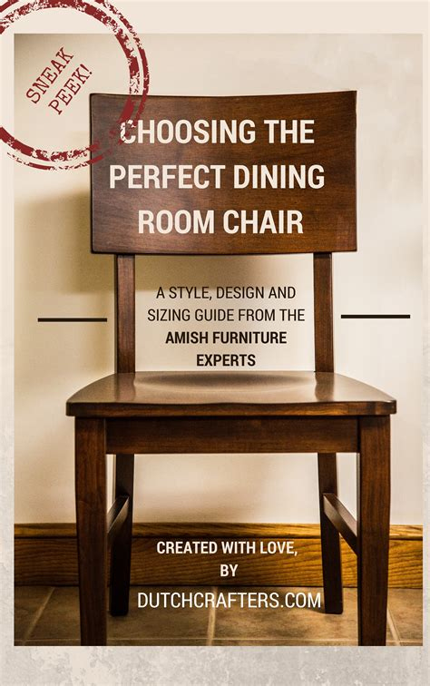 how to choose the right dining room chair size timber to