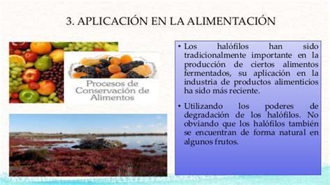 Aplicacion Industrial De Los Halofilos Colorantes Alimentos L