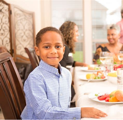 in taking your place at the table sit from 5 essential table manners every child should