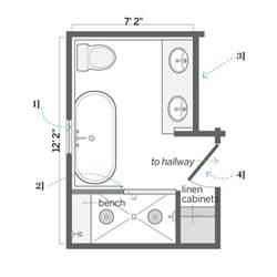 No tub excerpt master bathroom layouts new master bathroom floor
