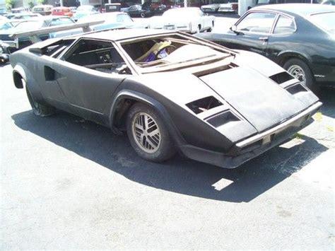 1985 Lamborghini Countach For Sale Find Used 1985 Lamborghini Countach Replica Recent Trade