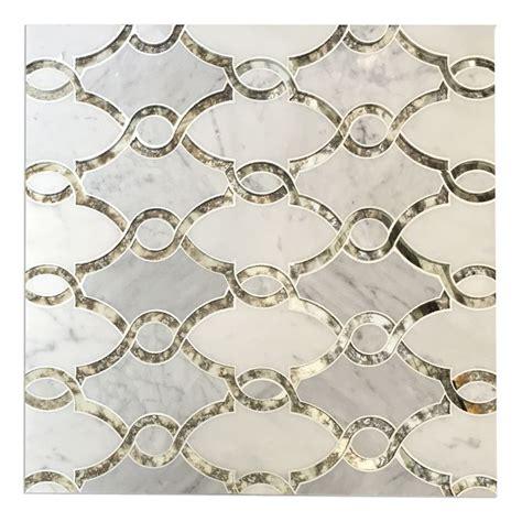 marble mosaic backsplash tile 25 best ideas about mosaic tile fireplace on