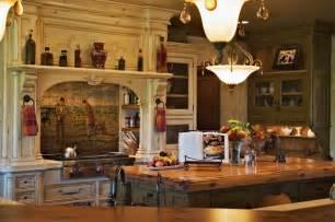 European Kitchens Designs Old World European Kitchen