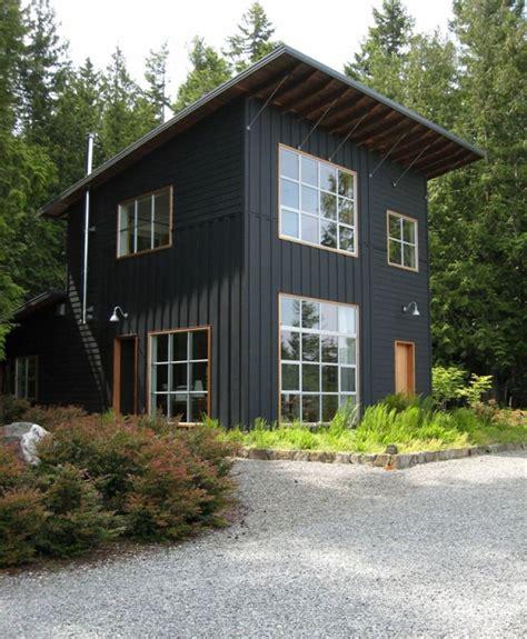 modern rustic home with casita modern exterior best 25 black exterior ideas on pinterest