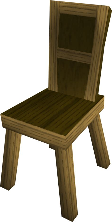 crude wooden chair wooden chair the runescape wiki