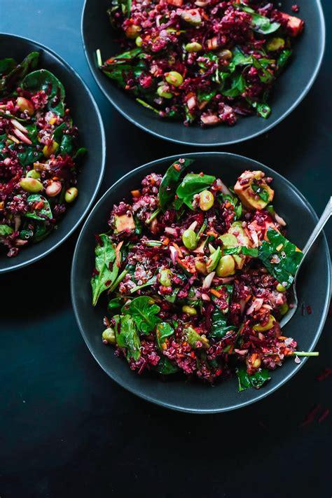colorful beet salad recipe cookie  kate