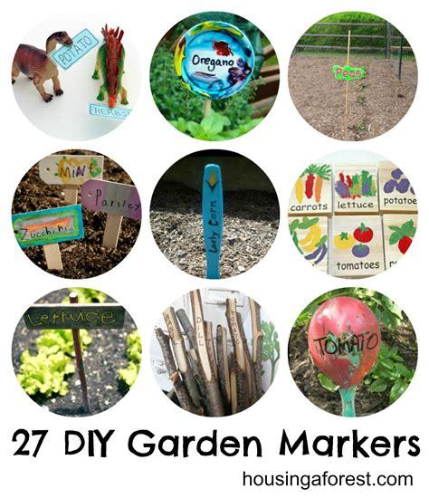 27 Diy Garden Markers Housing A Forest Vegetable Labels For Garden