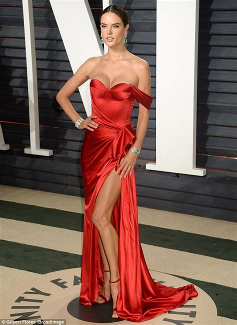 Alessandra Ambrosio attends two post Oscars parties   Daily Mail Online