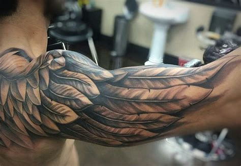 wings tattoo for men how much do tattoos typically cost