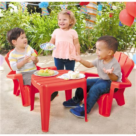 tikes table set buy tikes garden table and chairs set from canada