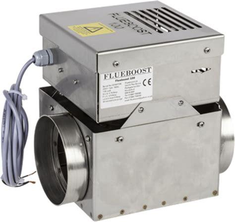 flue fans for open fires flueboost flueboost 100 boiler fan
