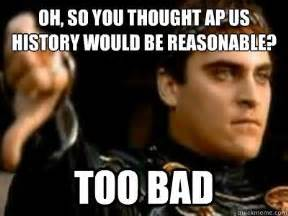 Us History Memes - ap us history memes google search funny world history