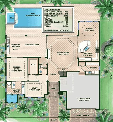 west indies house plans plan 66319we west indies house plan with great outdoor