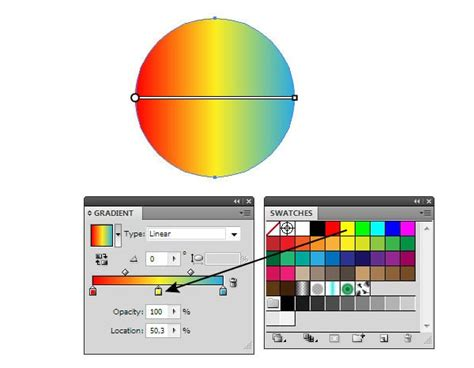 how to change gradient color in illustrator how to gradient fills in adobe illustrator