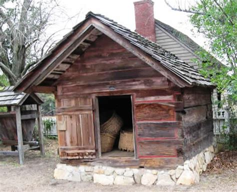 potato house outbuildings