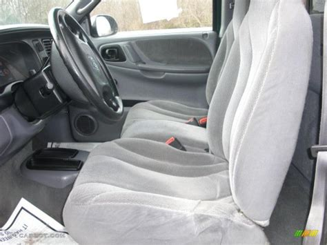2000 Dodge Dakota Interior by Mist Gray Interior 2000 Dodge Dakota Sport Regular Cab