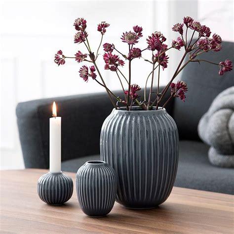 Eva Vase Kaufe K 228 Hler Hammersh 248 I Vase Large Grey 15386 Inkl