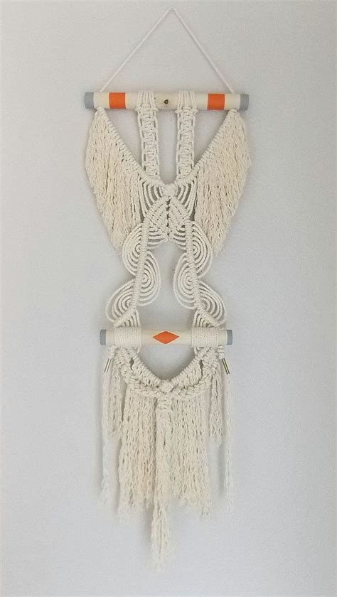 Macrame Wall Hanging Images - macrame wall hanging quot wings quot by himo one of a