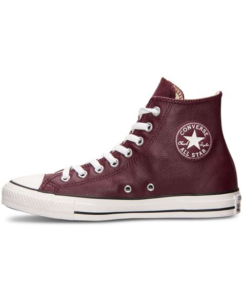 all sneakers converse s chuck all hi seasonal leather