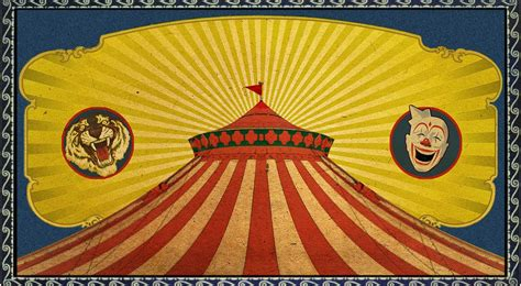 carnival posters template photoshop part 1 how to make a vintage circus poster