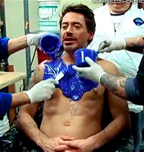 gif format latex robert downey jr covered in rubber latex that got your