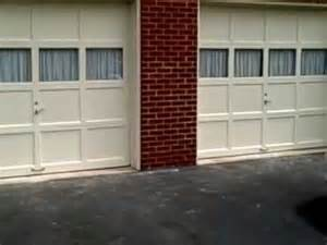 Replacing A Garage Door Repair Garage Door Panels Don T Replace Them Youtube