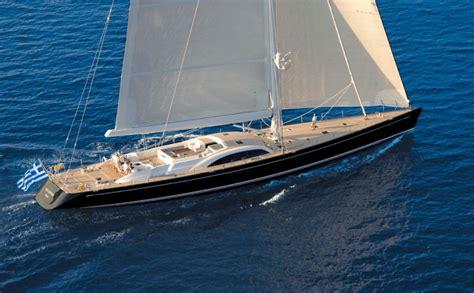 show sailing yacht s y aristarchos swan 131 luxury sailing yacht charter