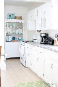 Old White Kitchen Cabinets by White Kitchen Remodel Using Thrifted Cabinets Remodelaholic