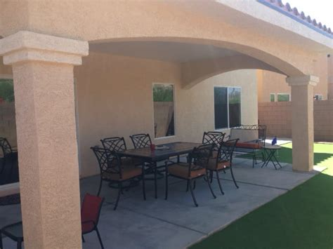 Stucco Patio Cover From This Company Yelp Stucco Patio Cover Designs