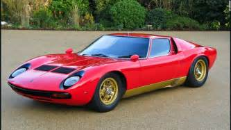 Oldest Lamborghini Lamborghini Miura Celebrating The 50th Anniversary Of The