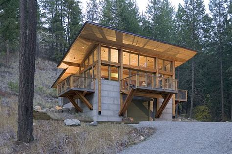 hillside cabin plans how much money to build a cabin compare prices