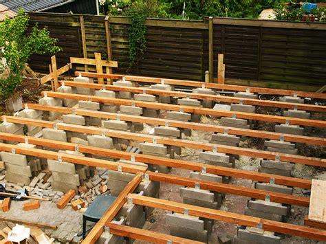 terrasse holz überdachung terrasse holz unterbau abstand kartagina info