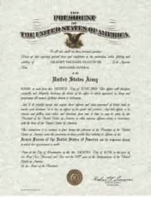 army promotion certificate template officer s commission form dd 1 certificate