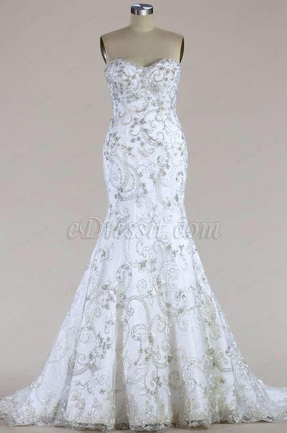 strapless beaded mermaid wedding dress edressit strapless beaded mermaid wedding dress f09003919