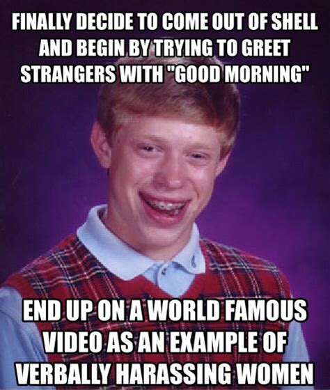 We Know Memes - bad luck brian in nyc weknowmemes