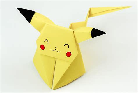 Origami Kawaii - origami pikachu tutorial paper kawaii 04 gloop
