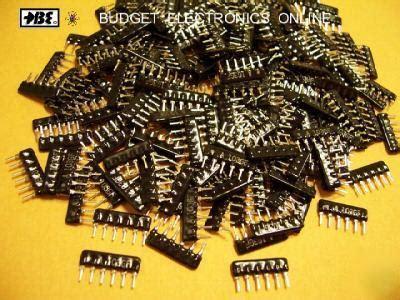 sip resistor pack sip resistor pack 28 images what is sip resistor 28 images 10k ohm 2 6p5r low pro 10pcs