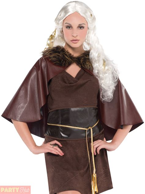 clothing shoes accessories costumes womens costumes ladies viking warrior princess costume womens fancy dress