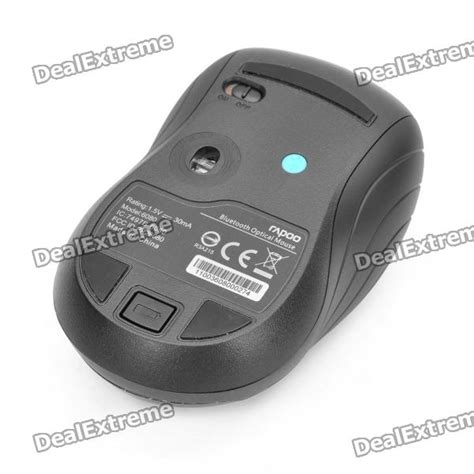 Mouse Bluetooth Rapoo rapoo 6080 bluetooth v3 0 1000dpi mouse black free shipping dealextreme